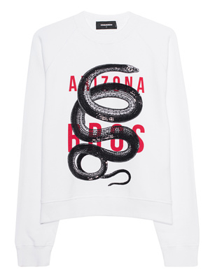 DSQUARED2 Snake White