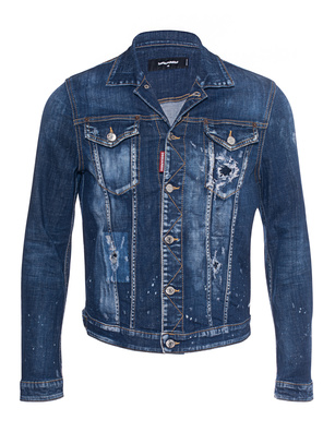 DSQUARED2 Basic Destroyed Blue