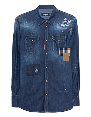 DSQUARED2 Denim Patch Blue