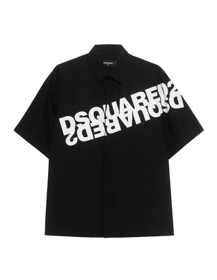 DSQUARED2 Logo Print Black