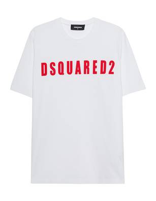 DSQUARED2 Logo DSQ Oversized White
