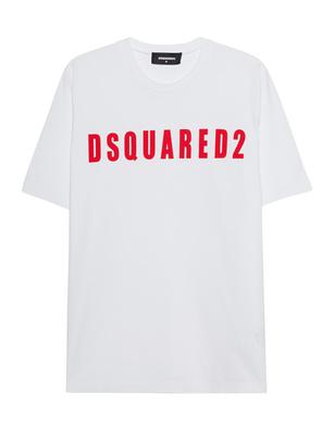 DSQUARED2 Logo DSQ Oversized White