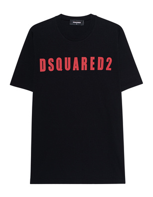 DSQUARED2 Logo DSQ Oversized Black
