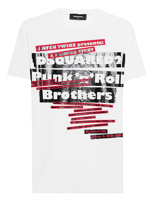DSQUARED2 Punk n Roll White