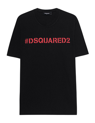 DSQUARED2 Hashtag Oversized Black