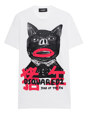 DSQUARED2 Year of the Pig Shirt White