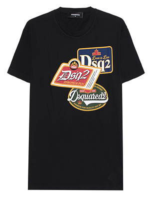 DSQUARED2 Patches Shirt Black