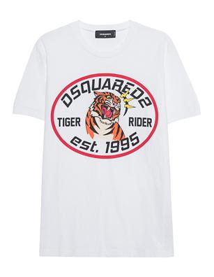 DSQUARED2 Tiger White