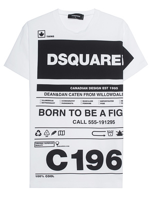 DSQUARED2 Allover White