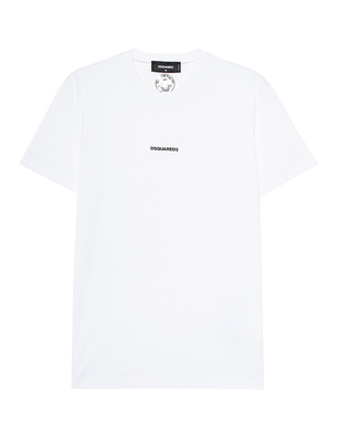 DSQUARED2 Logo Small Front White