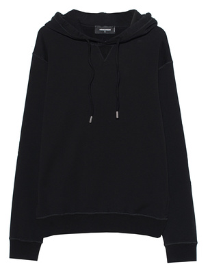 DSQUARED2 Icon Hooded Black
