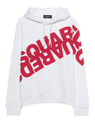 DSQUARED2 Logo Diagonal Red White