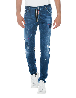 DSQUARED2 Cool Guy Zip Blue