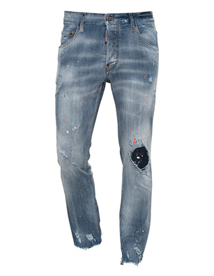 DSQUARED2 Skater Color Splash Blue