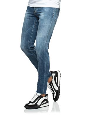 DSQUARED2 Slim Cropped Jean Blue