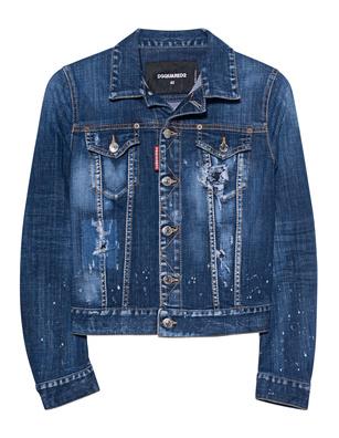 DSQUARED2 Basic Denim Jacket Blue