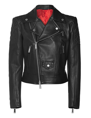 DSQUARED2 Sports Jacket Leather Black