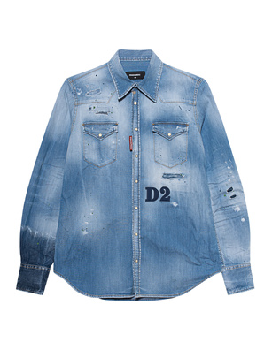 DSQUARED2 Destroyed Washed Blue