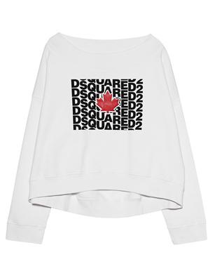 DSQUARED2 Off Sweater White