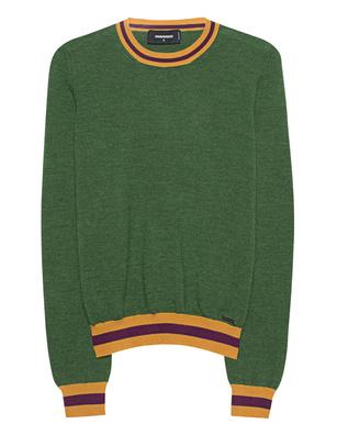 DSQUARED2 Fine Knit Wool Green