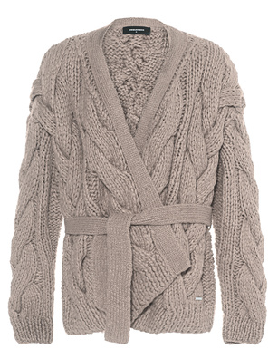 DSQUARED2 Coarse Knit Beige