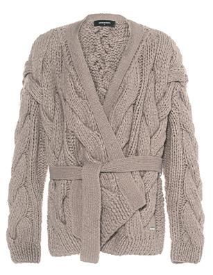 DSQUARED2 Coarse Knit Beige
