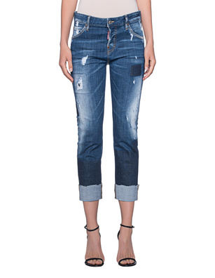 DSQUARED2 Cool Girl Crop Blue