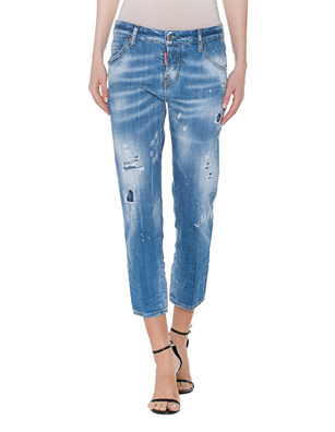 DSQUARED2 Cool Girl Cropped Light Blue