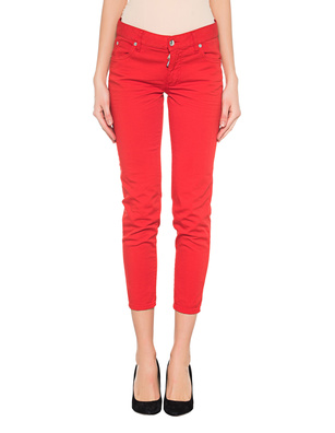 DSQUARED2 Wait Twiggy Cropped Red