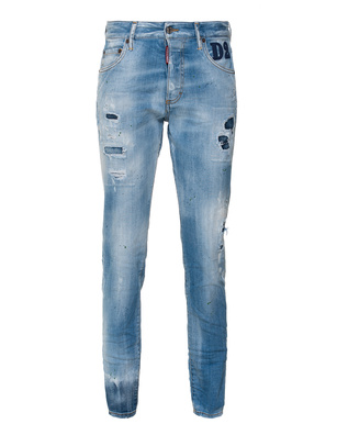DSQUARED2 Skinny Dan Jean Light Blue