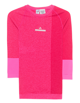 ADIDAS BY STELLA MCCARTNEY Yoga Seamless Top Shock Pink/Ruby Red