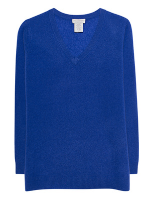 OATS Cashmere Sanibel Vneck Blue