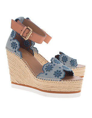 SEE BY CHLOÉ Costa Calf Blue