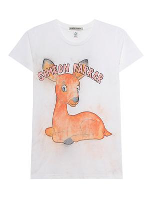 SIMEON FARRAR Bambi Logo White
