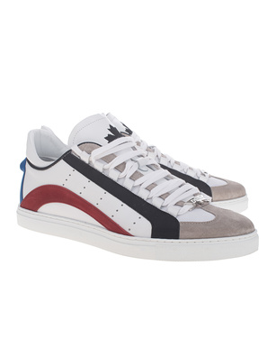 DSQUARED2 Lace-Up Low Top White