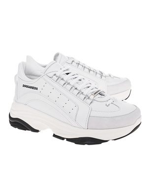 DSQUARED2 Vitello Sport White