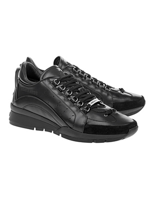 DSQUARED2 Lace-Up Vitello Black