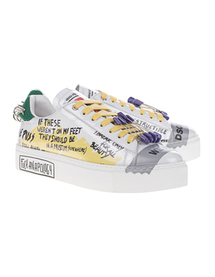 DSQUARED2 New Tennis White