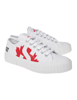 DSQUARED2 DS2 x Superga Canvas White