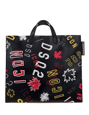 DSQUARED2 ICON Stamp Mix Black