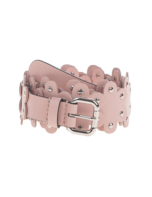 RED VALENTINO Studded Leather Nude
