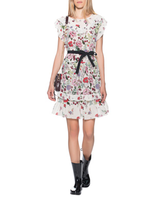 RED VALENTINO Flower Dress Multicolor