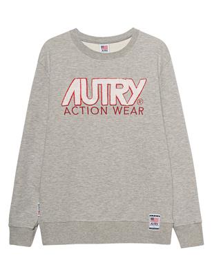 Autry Frottee Logo Grey