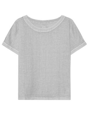 120% LINO Shirt Linen Light Grey