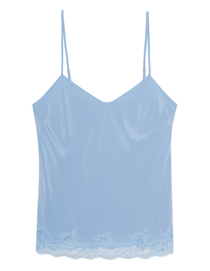 JADICTED Lace Top Lightblue