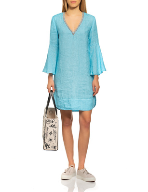 120% LINO Rhinestones Malibu Turquoise