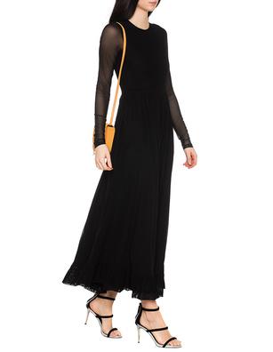 Ganni Addison Dress Long Black