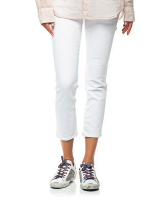 AG Jeans Ex-Boyfriend Slouchy Slim White
