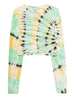SPRWMN Long Tie Dye Green
