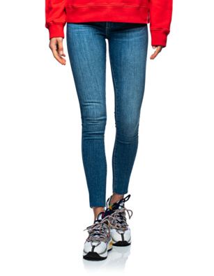 AG Jeans Farrah Skinny Ankle Skinny Blue